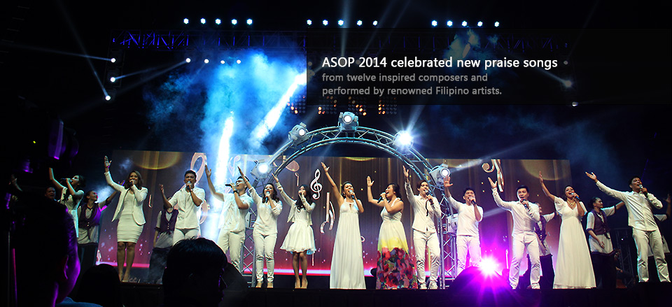 ASOP 2014 celebrated new praise songs