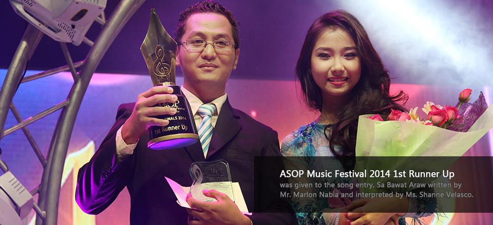 ASOP Music Festival 2014 1st Runner Up