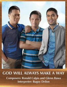 Bugoy Drilon: God Will Alwaysmake a Way