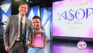 Enzo Villegas-ASOP 7 June Monthly Winner