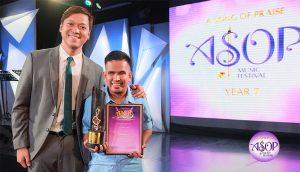 Enzo Villegas-ASOP 7 June Monthly Winner